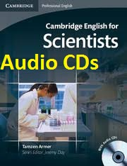 Cambridge English for Scientists Audio CDs