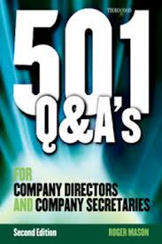 501 Questions and Answers for Company Directors and Company Secretaries 2nd Edition