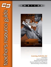 Choices - No Limits Teachers Resource Guide