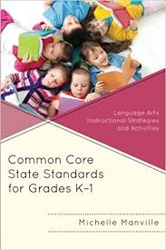 Common Core State Standards for Grades K-1 Language Arts Instructional Strategies and Activities