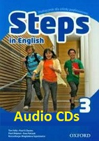 OXFORD Steps in English 3 Class Audio CDs