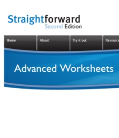 Straightforward 2nd Edition Advanced Worksheets