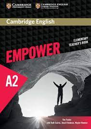 Empower A2 Elementary Teacher Book