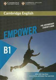 Empower B1 Pre-Intermediate Student Book