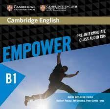 Empower B1 Pre-Intermediate Class Audio CDs
