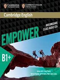 Empower B1 Plus Intermediate Class Audio CDs