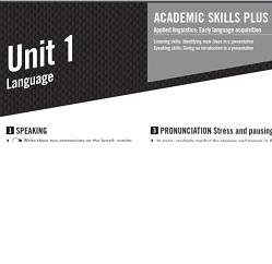 Empower B1 Plus Intermediate Academic Skills with Audio