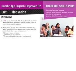 Empower B2 Upper-Intermediate Academic Skills Plus Worksheets