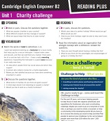 Empower B2 Upper-Intermediate Reading Plus