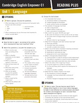 Empower C1 Advanced Reading Plus Worksheets
