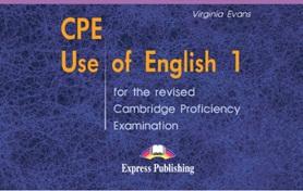 CPE Use of English 1 Answer Key - Virginia Evans