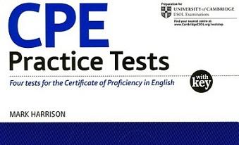 CPE Practice Tests with Keys - Mark Harrison (Ebook-Audio)