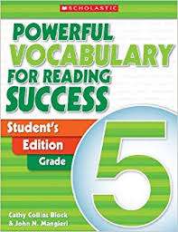Powerful Vocabulary for Reading Success Students Edition Grade 5
