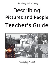 Reading and Writing Describing Pictures and People Teachers Guide