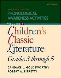 Sourcebook of Phonological Awareness Activities Volume 3 Second Edition