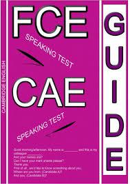 FCE CAE Speaking Test Guide