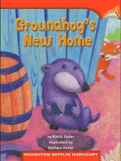 Houghton Mifflin Readers Grade 2 Beyond Level - Groundhogs New Home