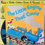 Disney Read Along - The Little Engine that Could - A Little Golden Book and Record