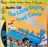 Disney Read Along - The Little Engine that Could Audio CD - A Little Golden Book and Record