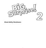Big Surprise! 2 Worksheets