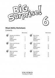 Big Surprise! 6 Worksheets