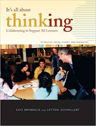 Its All About Thinking Collaborating to Support All Learners in English Social Studies and Humanities