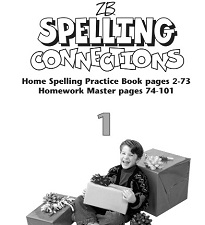 Spelling Connections Home Spelling Practice and Spelling Worksheets Grade 1