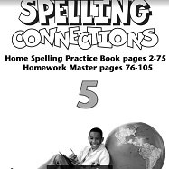 Spelling Connections Home Spelling Practice and Spelling Worksheets Grade 5