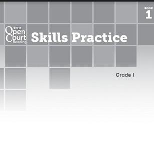 SRA Open Court Reading Skills Practice Workbook Book 1 Grade 1
