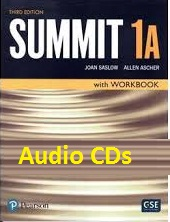 Summit 1A Student Book with Workbook 3rd Edition Audio CDs