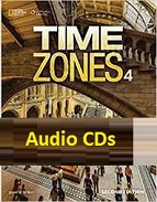 Time Zones 4 Class Audio CDs 2nd Edition