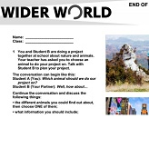 Wider World 2 Tests