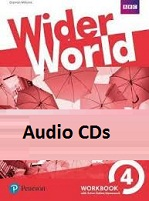 Wider World 4 Workbook Audio CDs