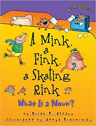 Words are Categorical - A Mink a Fink a Skating Rink What Is a Noun