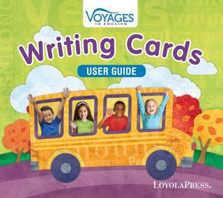 Voyages in English 2018 Writing Cards Box User Guide