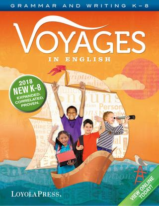 Voyages in English 2018 New K-8 Sample Pages