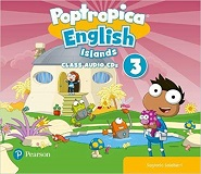 Poptropica English Islands 3 Class Audio CDs