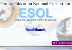 Further Education National Consortium ESOL Grammar - Conditionals (Skills for Life ESOL Extra Material)