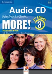 CAMBRIDGE More! 3 Class Audio CDs Second Edition