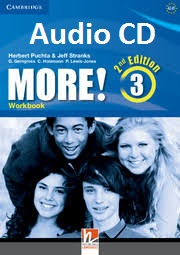 CAMBRIDGE More! 3 Workbook Audio Second Edition