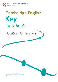 Key English Test (KET) for Schools - Handbook for Teachers