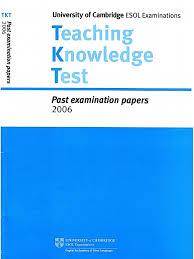 CAMBRIDGE Teaching Knowledge Test (TKT) Past Examination Paper 2006