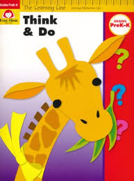 Think and Do Workbook Pre K K - The Learning Line