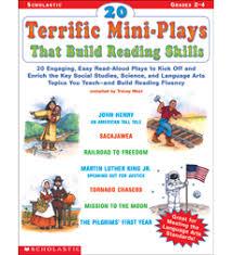 Scholastic 20 Terrific Mini-Plays that Build Reading Skills Grades 2-4