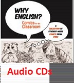 Why English Comics for the Classroom Audio CDs
