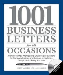 1001 Business Letters for All Occasions by Corey Sandler and Janice Keefe