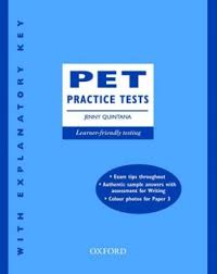PET Practice Tests - Jenny Quintana (Ebook+Audio)