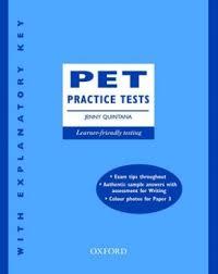 PET Practice Tests - Jenny Quintana (Ebook-Audio)