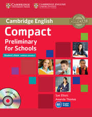 Cambridge Compact Preliminary for Schools Students Book Without Answer Keys