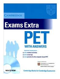 Cambridge Exams Extra PET Book with Answers